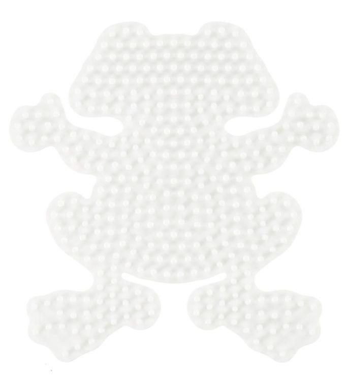 Hama midi perleplade - frø fra hama på kids-world