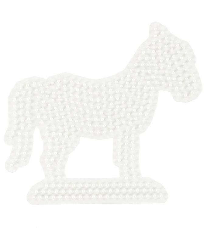 hama – Hama midi perleplade - hest fra kids-world