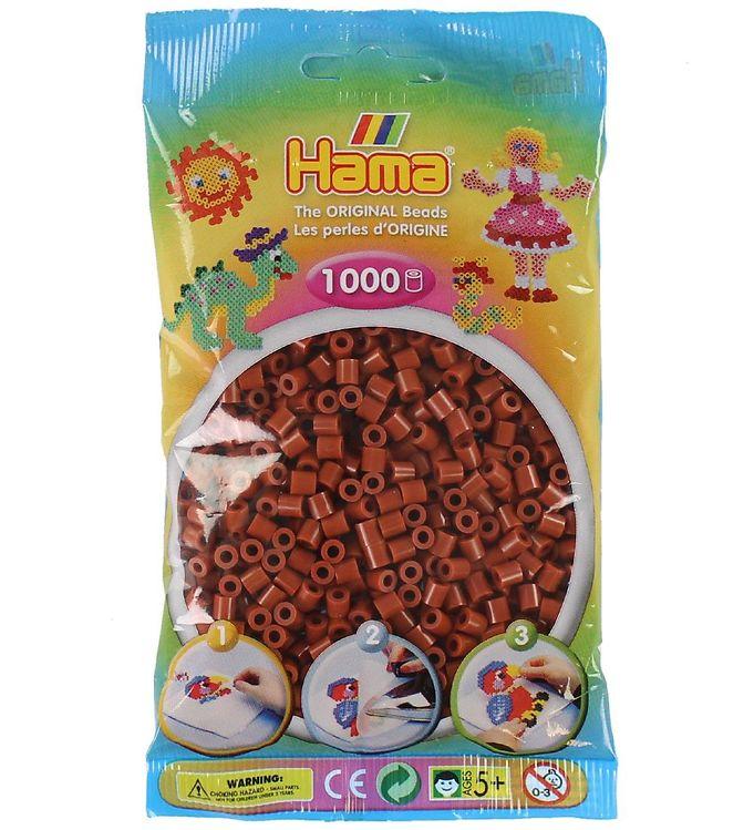 Hama midi perler - 1000 stk - lys brun fra hama på kids-world