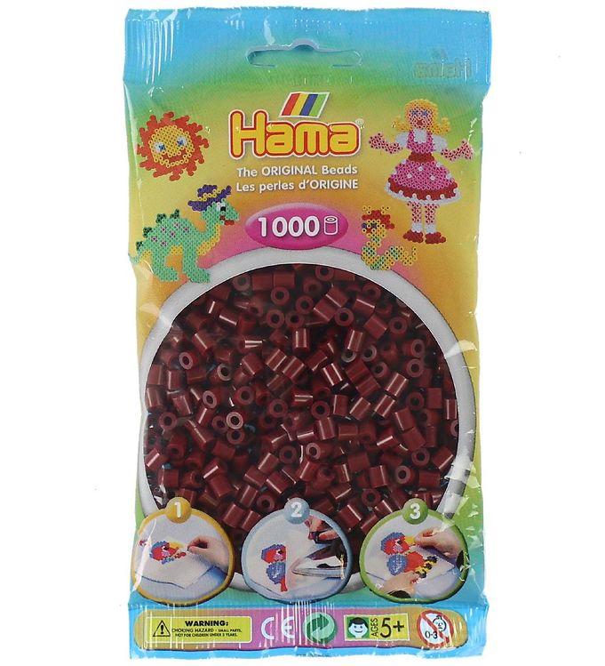 Hama midi perler - 1000 stk - rødbrun fra hama på kids-world