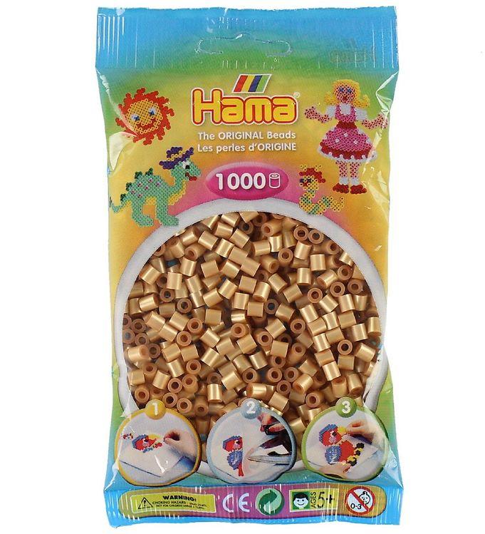 Image of   Hama Midi Perler - 1000 stk - Guld