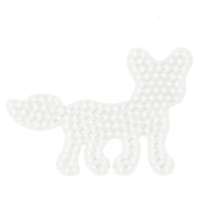 Hama midi perleplade - ræv fra hama på kids-world