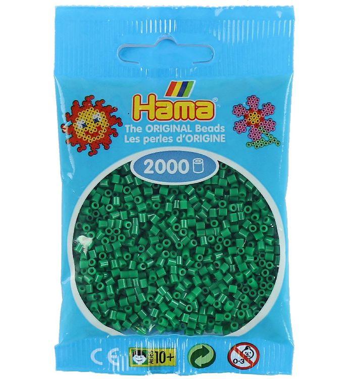 Hama mini perler - 2000 stk - grøn fra hama fra kids-world