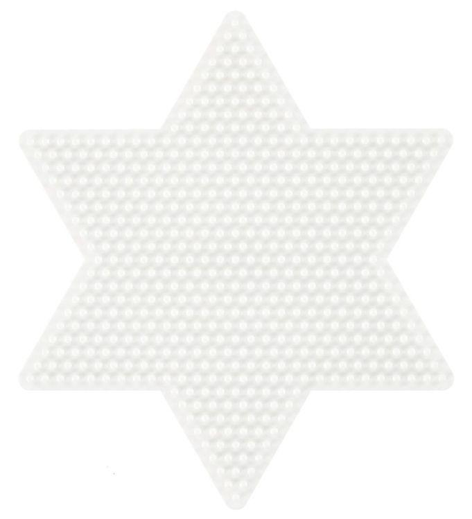 Image of   Hama Midi Perleplade - Stor Stjerne