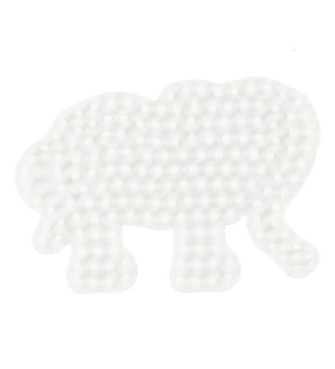 Image of   Hama Midi Perleplade - Lille Elefant