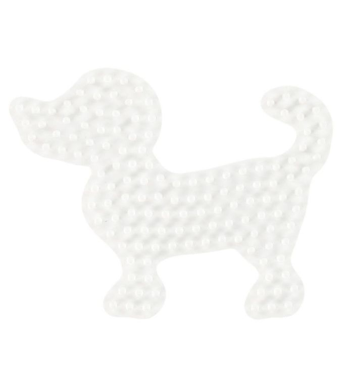 Image of   Hama Midi Perleplade - Lille Hund