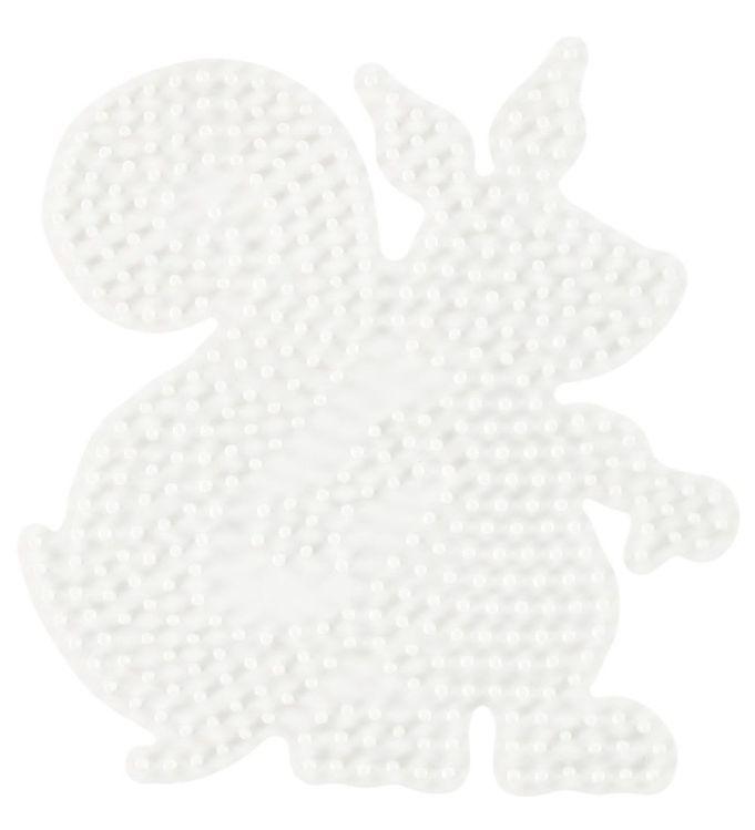 Hama midi perleplade - egern fra hama på kids-world