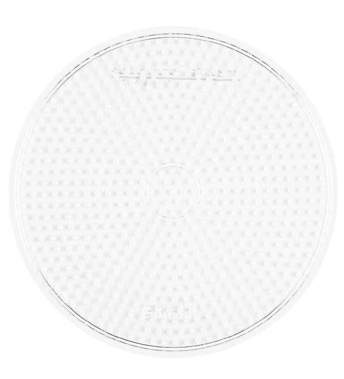 hama Hama midi perleplade - stor cirkel - transparent på kids-world