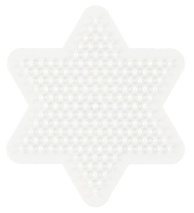 Hama midi perleplade - lille stjerne fra hama fra kids-world