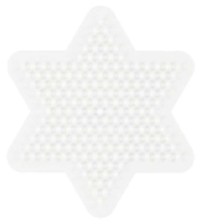 Image of   Hama Midi Perleplade - Lille Stjerne