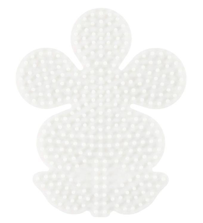 Hama midi perleplade - blomst fra hama fra kids-world