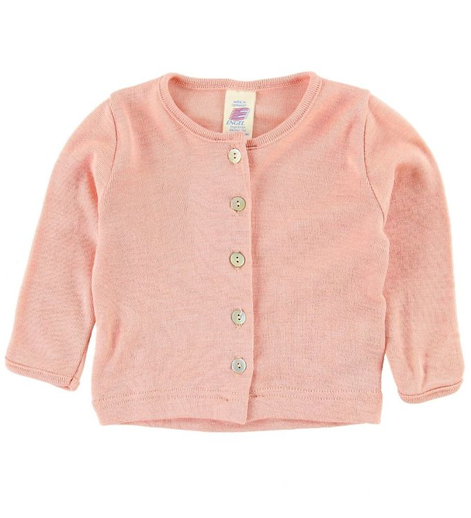 Image of Engel Cardigan - Uld - Rosa (MC249)