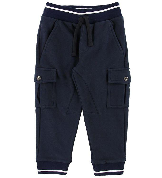 Image of Dolce & Gabbana Sweatpants - Navy (MC365)