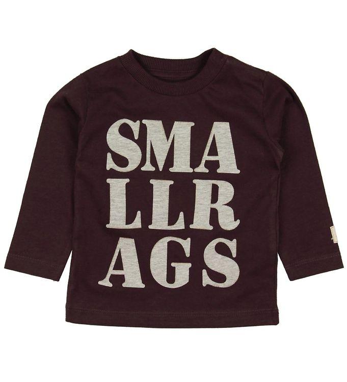 Image of Small Rags Bluse - Grape m. Print (MC624)