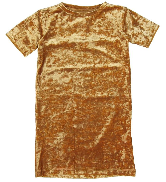Image of   Small Rags Kjole - Velour - Guld