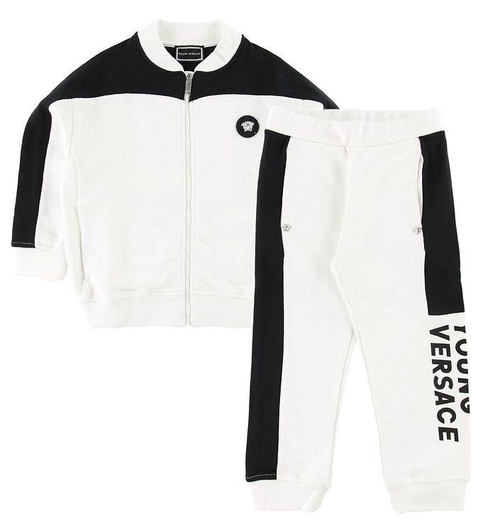 Young Versace Sweatsæt - Sort/Hvid