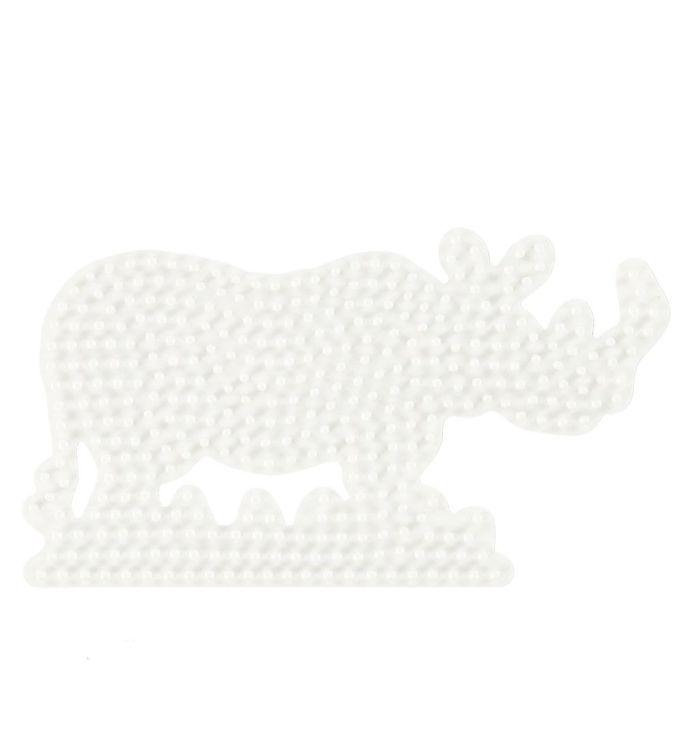 Hama Midi Perleplade - Næsehorn