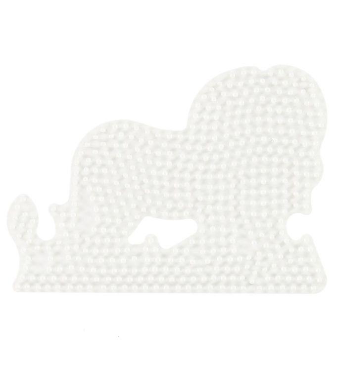 Hama Midi Perleplade - Løve