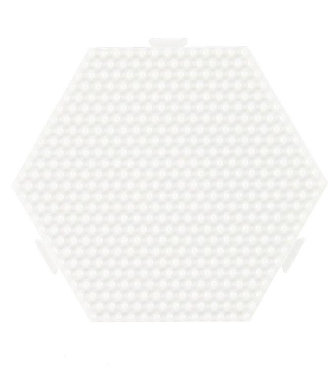 Hama Midi Perleplade - Sekskant
