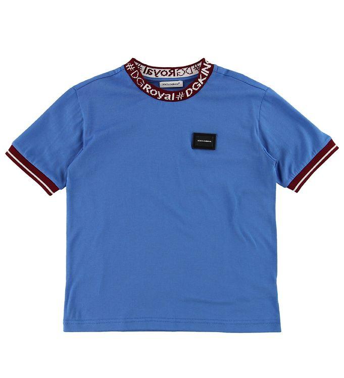 Image of Dolce & Gabbana T-shirt - Blå (ME584)