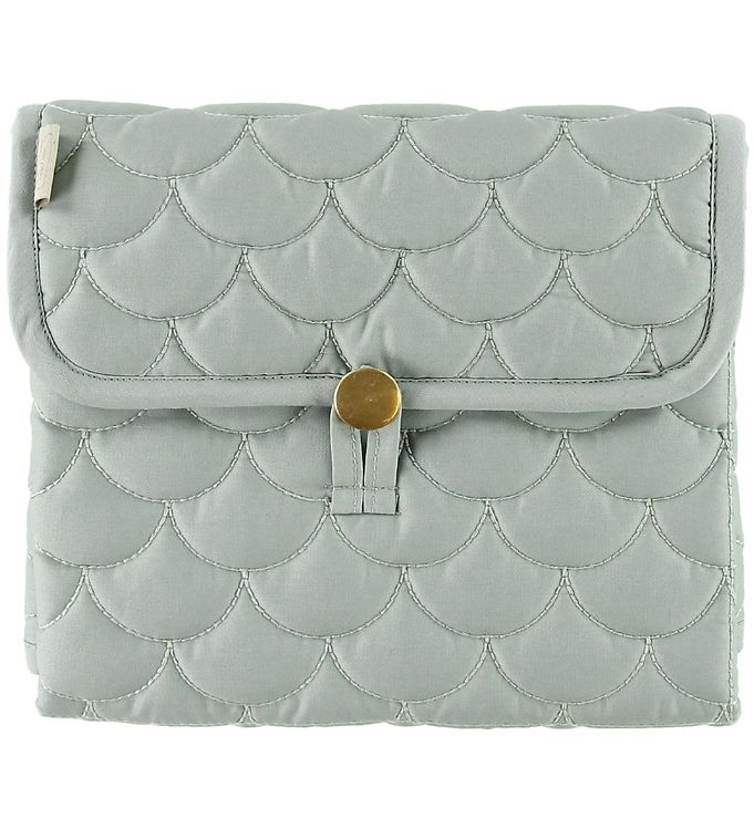 Image of Cam Cam Pusleunderlag - Quilted - Misty Green (ME771)