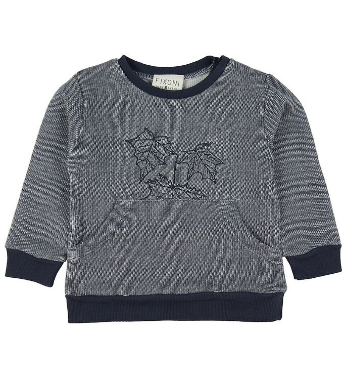 Image of Fixoni Sweatshirt - Soft Blue m. Blade (ME830)