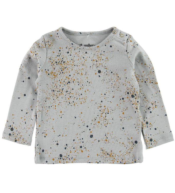Image of Soft Gallery Bluse - Bella - Mini Splash - Blå (MF206)
