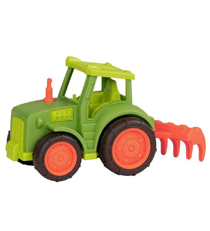Image of Wonder Wheels Traktor m. Harve - 15x20x13 - Grøn (MF623)