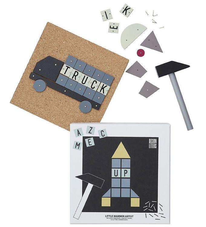 Design Letters Hammerspil - Rumskib - 17 - Design Letters,Design Letters Legetøj,Design Letters Trælegetøj - Design Letters