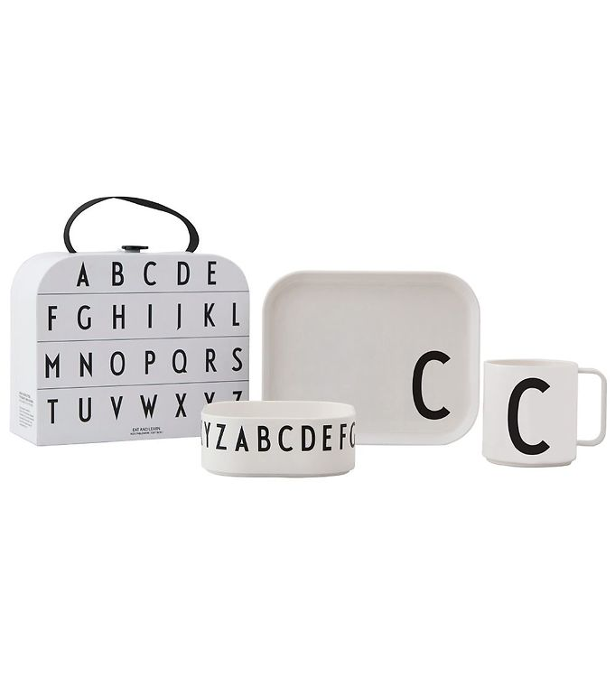Image of Design Letters Spisesæt - Classics In A Suitcase - C (MF835)
