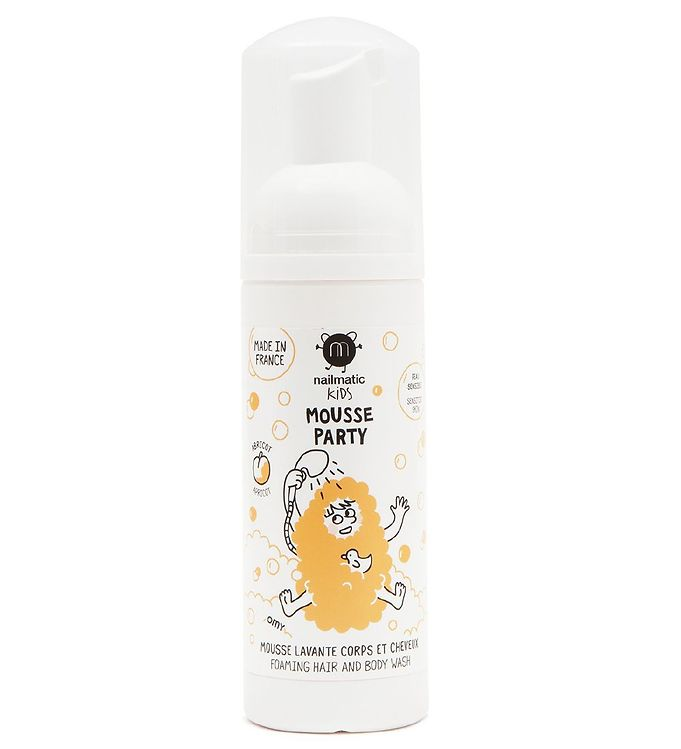 Image of Nailmatic Mousse Party - Abrikos - Skummende Sæbe (MG299)