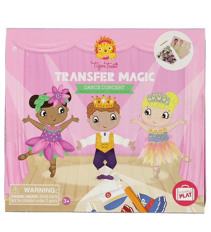 Image of Tiger Tribe Legesæt - Transfer Magic - Dans (MG321)