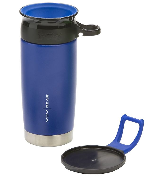 Image of Wow Cup Termo - Stål - 400 ml - Blå/Sort (MG780)