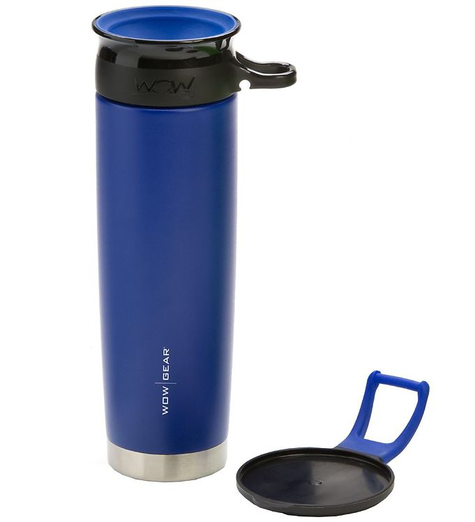 Image of Wow Cup Termo - Stål - 650 ml - Blå/Sort (MG790)