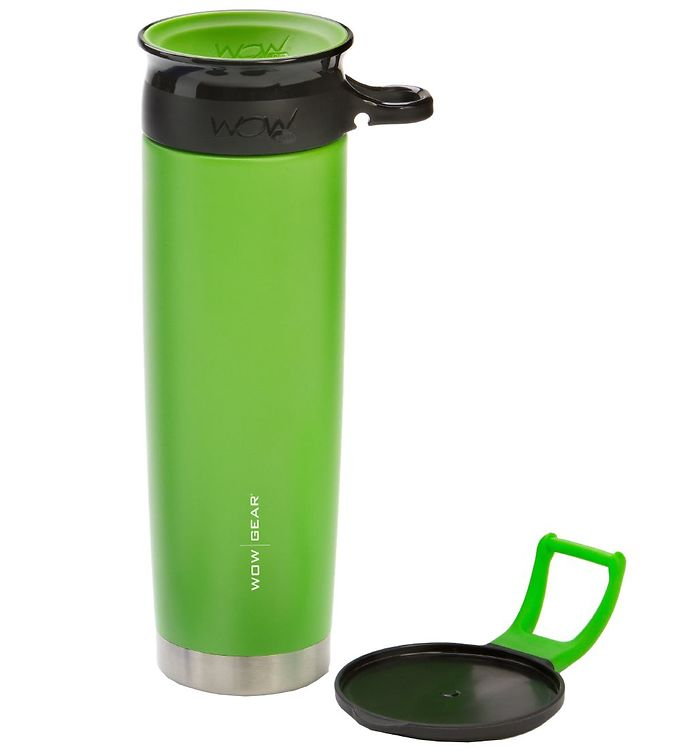 Image of Wow Cup Termo - Stål - 650 ml - Grøn/Sort (MG791)