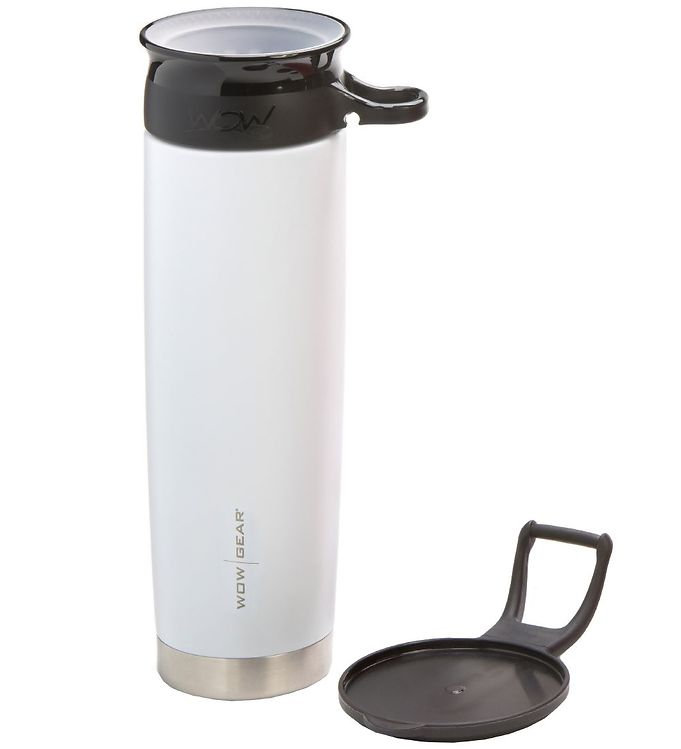 Image of Wow Cup Termo - Stål - 650 ml - Lysegrå/Sort (MG793)