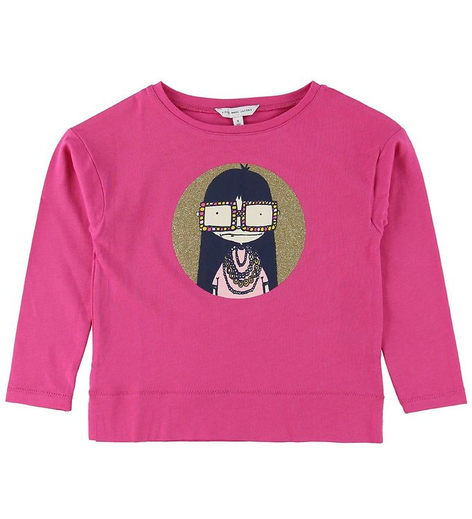 Image of Little Marc Jacobs Bluse - Fuchsia m. Pige (MH301)