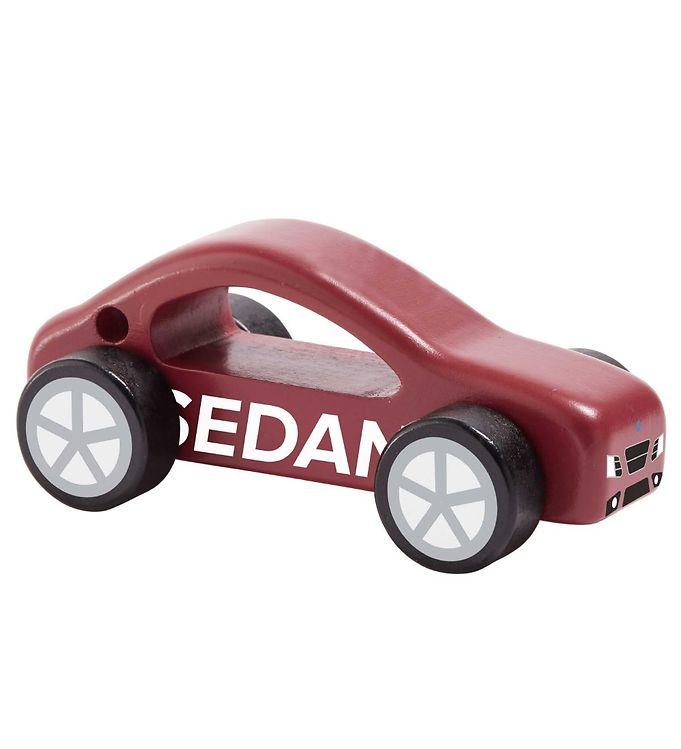 Kids Concept Træbil - Aiden - Sedan - Kids Concept Bil,Kids Concept Legetøjsbiler,Kids Concept Trælegetøj - Kids Concept