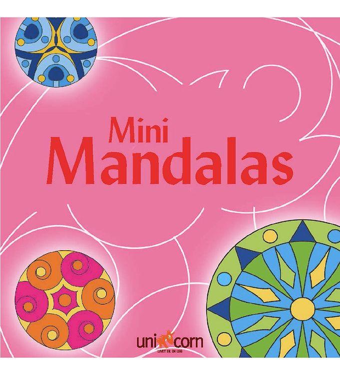 Mini Mandalas Malebog - Pink