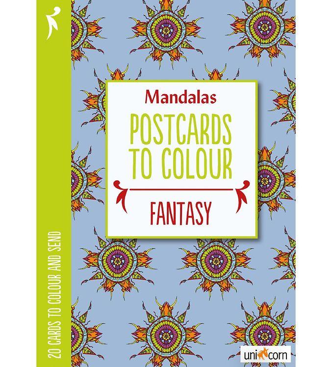 Image of Mandalas Postkort - 20 stk - Fantasi (MH776)