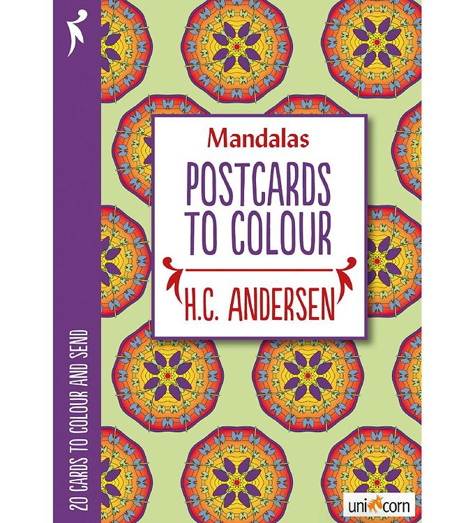 Image of Mandalas Postkort - 20 stk - H. C. Andersen (MH780)
