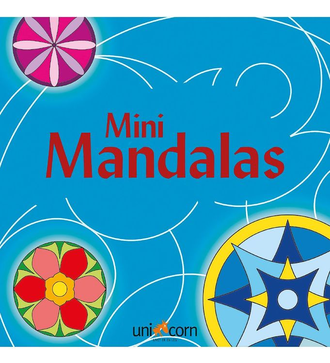 Image of Mini Mandalas Malebog - Blå (MH782)