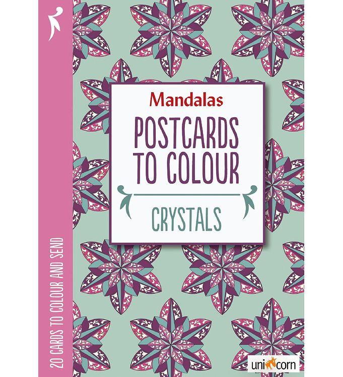 Image of Mandalas Postkort - 20 stk - Krystaller (MH783)