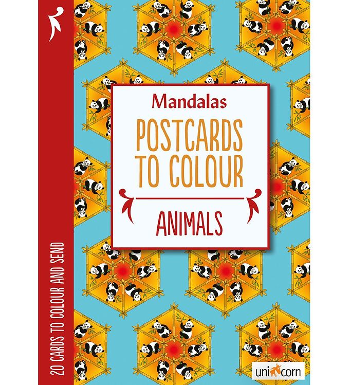 Image of Mandalas Postkort - 20 stk - Dyr (MH785)