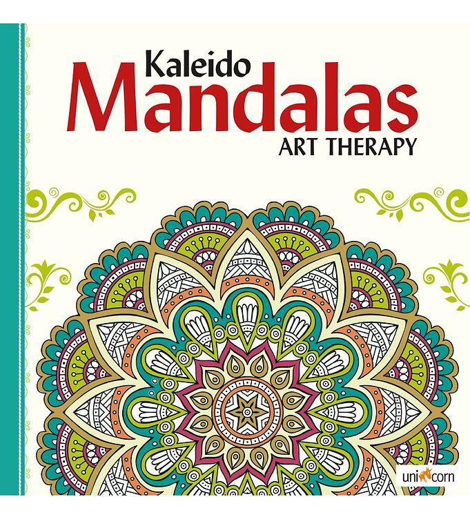 Image of Kaleido Mandalas Terapibog - Hvid (MH791)