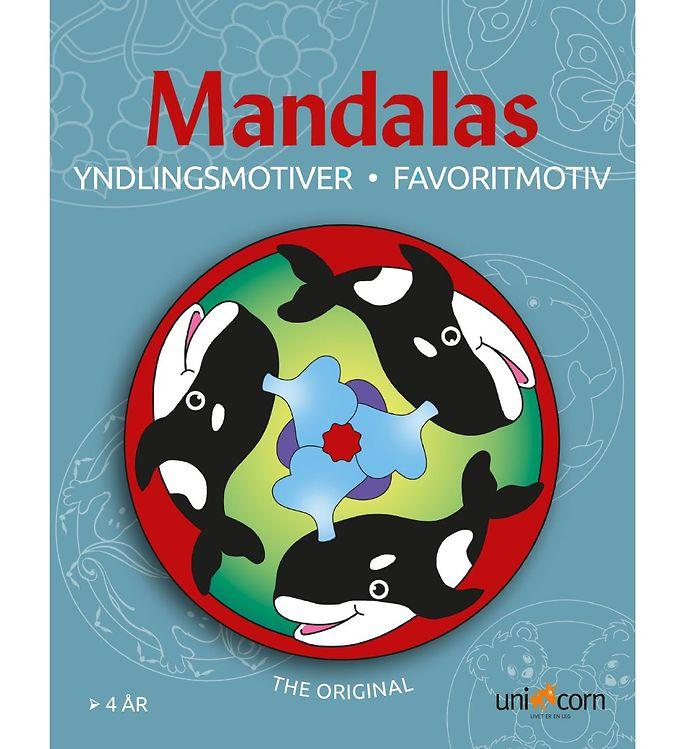 Mandalas Malebog - Yndlingsmotiver