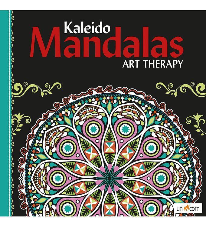 Image of Kaleido Mandalas Terapibog - Sort (MH801)