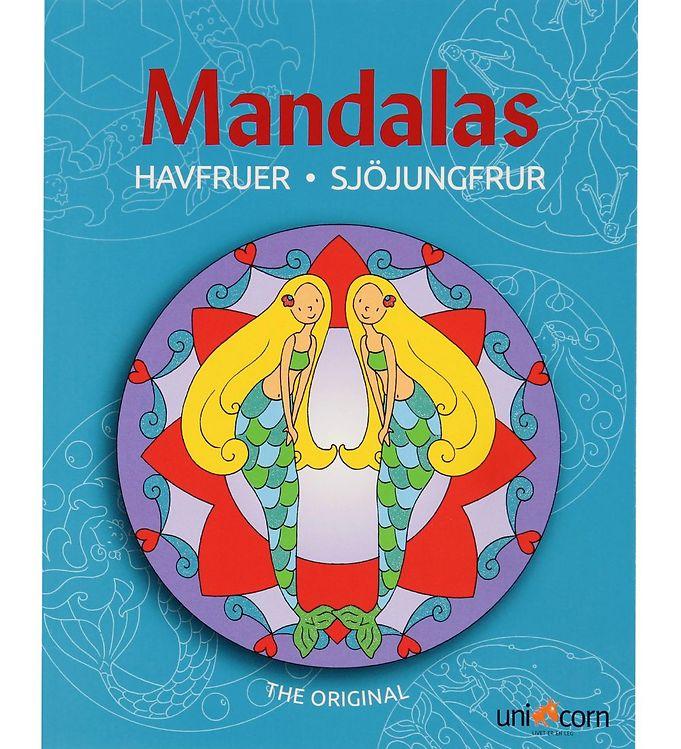 Mandalas Malebog - Havfruer