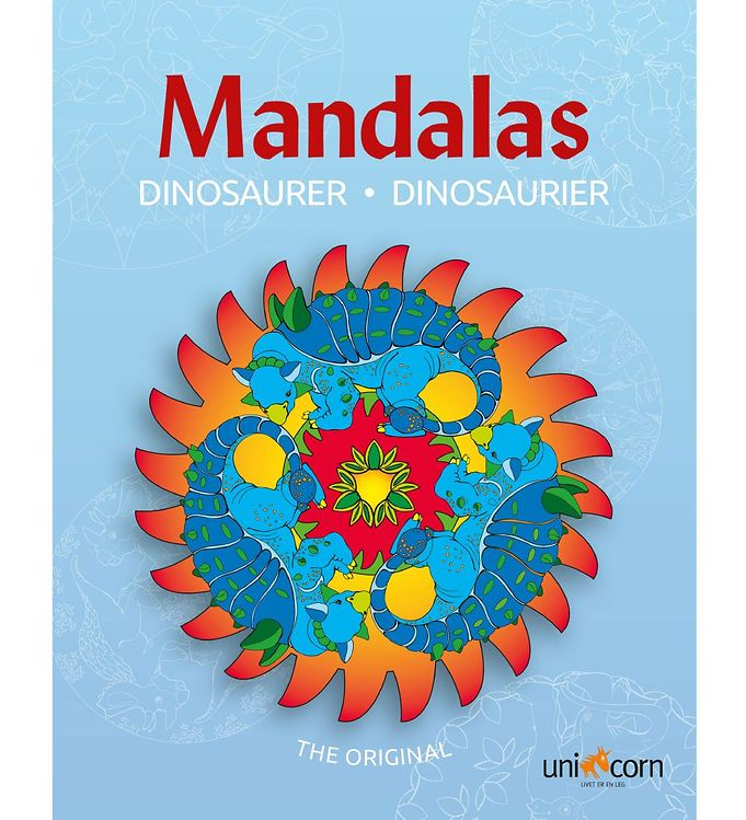 Image of Mandalas Malebog - Dinosaurer (MH807)