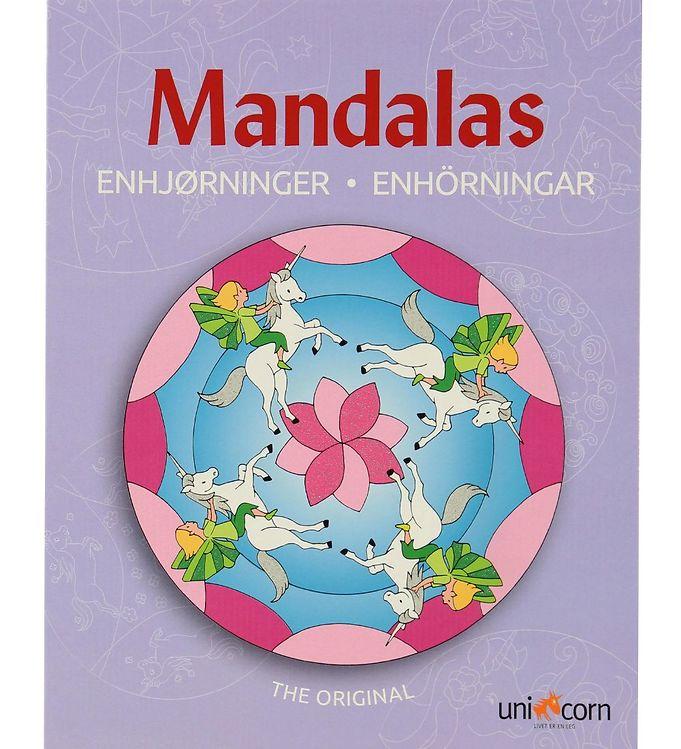 Mandalas Malebog - Enhjørninger